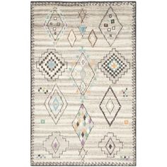 Shop for Safavieh Handmade Kenya Natural/ Multi Wool Rug (6' x 9'). Get free shipping at Overstock.com - Your Online Home Decor Outlet Store! Get 5% in rewards with Club O! - 18655107