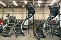 steel eliptcial staircase | Free Download Elliptical Staircase HD Wallpaper