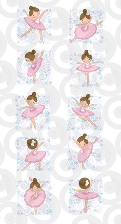 Clipartopolis.com - Digitizer's Heaven Baby Ballet, Ballet Art, Ballet Dance, Ballerina Birthday Parties, Ballerina Party, Diy And Crafts, Crafts For Kids, Paper Crafts, Ballet Cakes