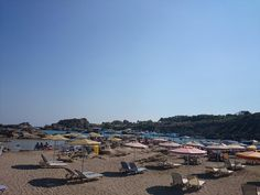 #September arrival doesn't end #Summer at #Faliraki! Tasos #Beach just 7km from Kouros!  #Rhodes #Rodos #Greece