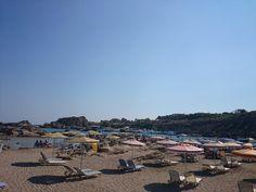 #September arrival doesn't end #Summer at #Faliraki! Tasos #Beach just 7km from Kouros!  #Rhodes #Rodos #Greece