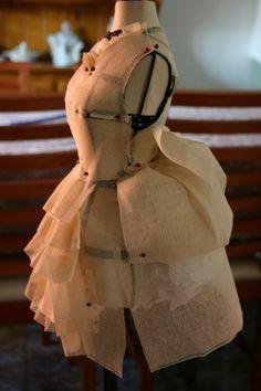 fashion in the making - fashion design; dressmaking; fashion design studio ( I love the beginning stages)
