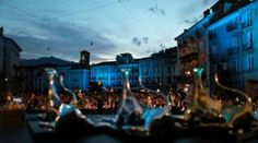 Locarno film festival at night, watching film out in the stars... just magical