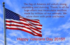 Veterans Day 2015 Thank you Quotes,Poems, Images, Poster, History, Free Meal, Freebies - Happy Veterans Day 2015