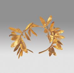 Olive Wreath  4th–3rd century B.C.  Greek (Macedonian) (Hellenistic Period, 323 – 30 B.C.)  gold