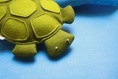 Wool Felt Turtle