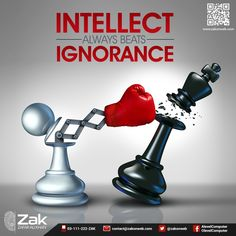 An intelligent, educated person always has the upper hand, when compared to one who is ignorant. Sharpen your intellect with education! #Olevel #Alevel #ComputerScience #CIE #ZakOnWeb