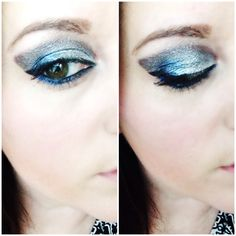 New Year's Eve makeup. This was done with urbandecay anarchy palette and deep truth eyeshadow by Mac.