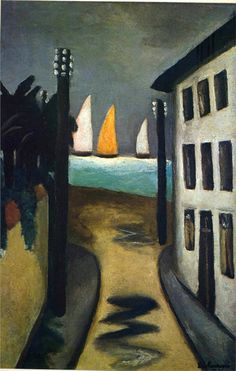 Max Beckmann, German (1884-1950) 'Small Landscape' (1925)