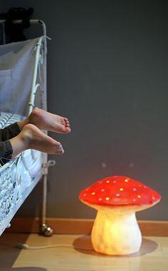 toadstool lamp