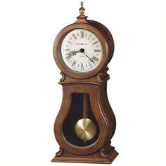 Howard Miller Arendal Quartz Mantel Clock (€250) ❤ liked on Polyvore featuring home, home decor, clocks, mantel-clock, howard miller desk clock, pendulum desk clock, howard miller mantle clock and roman numeral clock