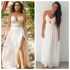 Blog post up now with details on this ✨$27✨DUPE for Jojo's finale dress for all my #Bachelorette fans! This is one you don't want to miss out on! SheIn lace maxi dress #thebachelorette #bachelornation #bachelorinparadise #jojo
