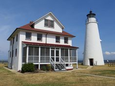 Cove Point lighthouse, Chesapeake Bay, MD