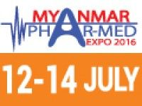 The #Myanmar #Phar-Med Expo 2016, the international #exhibition and conference of the medical and pharmaceutical industry taking place at Myanmar Convention Center of Yangon (formerly Rangoon). The Myanmar Phar-Med Expo 2016 takes place annually, and therefore for the fourth time previsibly in July 12-14, 2016 in Rangoon.