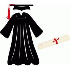Silhouette Cameo Files, Silhouette Cutter, Silhouette Vinyl, Silhouette Cameo Projects, Silhouette Design, Graduation Cards Handmade, Graduation Templates, Graduation Cookies, Graduation Robes