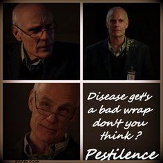 Disease get's a bad wrap don't you think ~ Four Horsemen, Pestilence ~ Supernatural