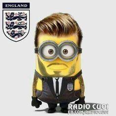 Best Minion ever, David Beckham.