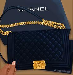 2b03eef638ba Everybody loves Chanel by TarcilaRS.deviantart.com on @DeviantArt Chanel  Boy Bag
