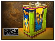 Motor City Hardware funky Style Gallon Gas Can