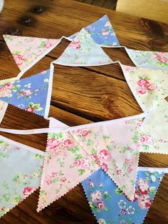 The Lovely Nest: Homemade Bunting Flags