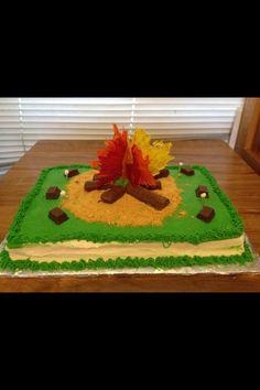 Bon fire cake
