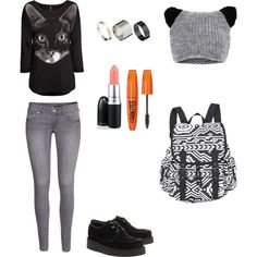 """Back to school"" by hanako-7 on Polyvore"