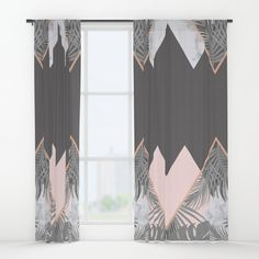 Your drapes don't have to be so drab. Our awesome Window Curtains transform a neglected essential into an awesome statement piece. on @society6 BLUSH, COPPER, GRAY, PINK, MARBLE, GEOMETRIC, PATTERN, TROPICAL , HIPSTER, TRENDY, SOCIETY6, TRIANGLES, SCANDINAVIAN, PRINT, DUVET, BLACK AND WHITE, LEAVES, LEAF, SUMMER, FASHION, NATURE, INTERIOR DESIGN, HOME STYLE, DECORATION, HOME DECOR, DESIGN