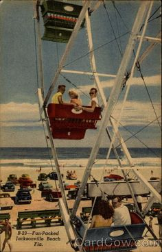 Fun-packed beach Jacksonville, FL I miss the boardwalk. Vintage Florida, Old Florida, Florida Keys, Florida Beaches, Jacksonville Florida, Naples Florida, Kissimmee Florida, Clearwater Florida, Neptune Beach