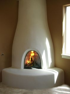 kiva fireplace - Google Search