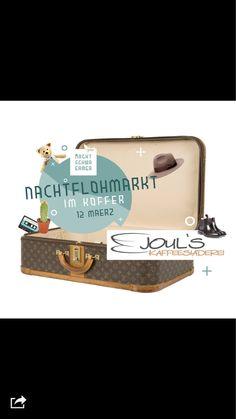 Hey Freunde und nicht vergessen.... Donnerstag ist Flohmarkt im Koffer und  Stehcafe im Joul's  http://evpo.st/1ET76uZ