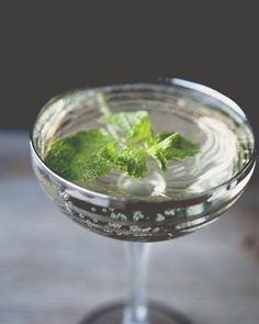 Old Cuban  INGREDIENTS 1 ounce fresh lime juice 1/2 ounce simple syrup 4 mint leaves, torn 2 ounces aged rum 2 dashes angostura bitters 2 ounces sparkling wine