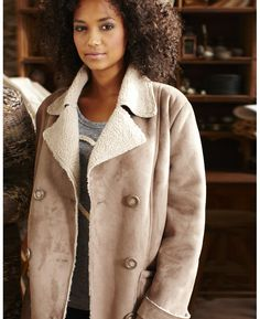 sheepskin coat | want list | Pinterest | Sheepskin coat and Coats