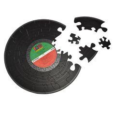 $35 RECORD PUZZLE | Vinyl Record Memorabilia | UncommonGoods