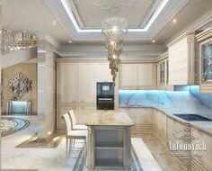 Kitchen Design in Dubai, Cozy Kitchen  Luxury Apartment, Photo 3