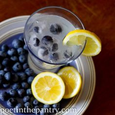 gown up lemonade! 3 oz lemonade. 2 oz blueberry vodka. freeze blueberries in cubes before hand then add a slice of lemon. PERFECTION.