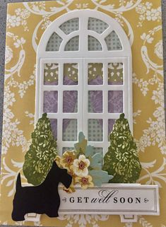 Anna Griffin Inc, Anna Griffin Cards, Window Ledge, Window Cards, Shaker Cards, Rubber Stamping, Card Kit, Declutter, Card Ideas