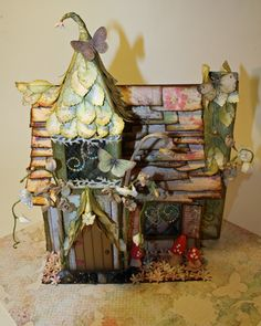 Laura's new series - Garden Magic - a Wee Fairy Village