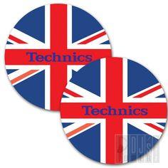 DMC Technics UnionJack SLIPMATS