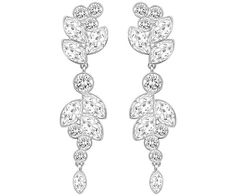 Diapason Medium Pierced Earrings - Gifts - Swarovski Online Shop