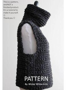 Doily Patterns, Knit Patterns, Crochet Lace, Crochet Shawl, Crotchet, Knit Vest Pattern, Knit Fashion, Crochet Designs, Crochet Clothes