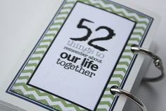 just dawnelle: 52 Things to Remember...
