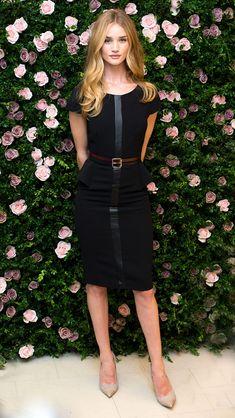 Rosie en la mejor vestida, según Vogue.