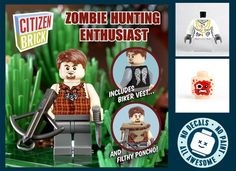 lego the walking dead figure