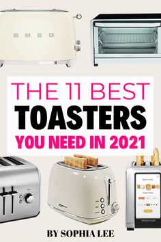 Whaattt?? I never realized I could want a toaster so bad. There are so many good ones in this post but I'm currently deciding between the Smeg and the digital toaster to add to my wedding registry... I can't choose! First Apartment Checklist, First Apartment Essentials, Apartment Hacks, Moving House Tips, Moving Tips, Moving Hacks, Ikea, Apartment Decorating On A Budget, Clean Bedroom