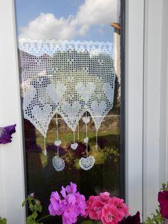 47 meilleures images du tableau rideaux crochet   Crochet Curtains ...