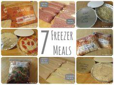 The Thriftiness Miss: A Week of Freezer Meals