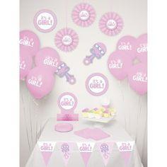 Lovely Way To Celebrate Baby Girl Decor Kit