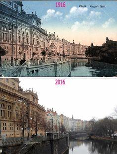 Riegerovo nám. Praha CZ Prague Photos, History Photos, Czech Republic, Time Travel, Poland, Louvre, City, Places, Photography