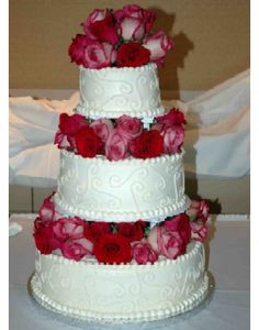 Simple 3 Tier Wedding Cakes | ... | Published August 29, 2010 at 330 × 420 in CAKE FOR YOU