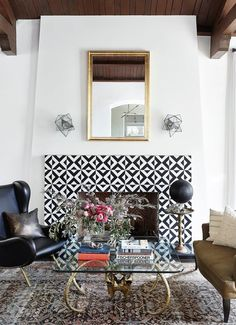 Remodeling Ideas: Modern Cement Tiles Ideas + Shopping Sources   cement tiles are crafted from natural materials (i.e. sand, clay, and color pigments)—making them both extremely durable and eco-friendly.